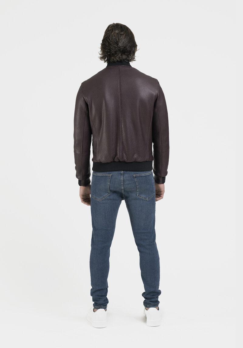 raphael-blouson-veste-réversible-tissu-cuir-agneau-dos