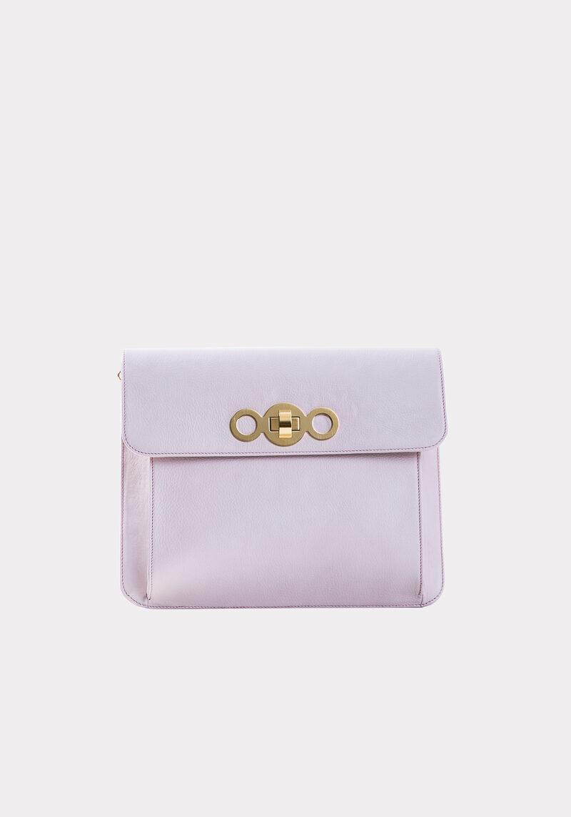 athena-sac-a-main-pochette-cuir-veau-italien-pleine-fleur-rose-face