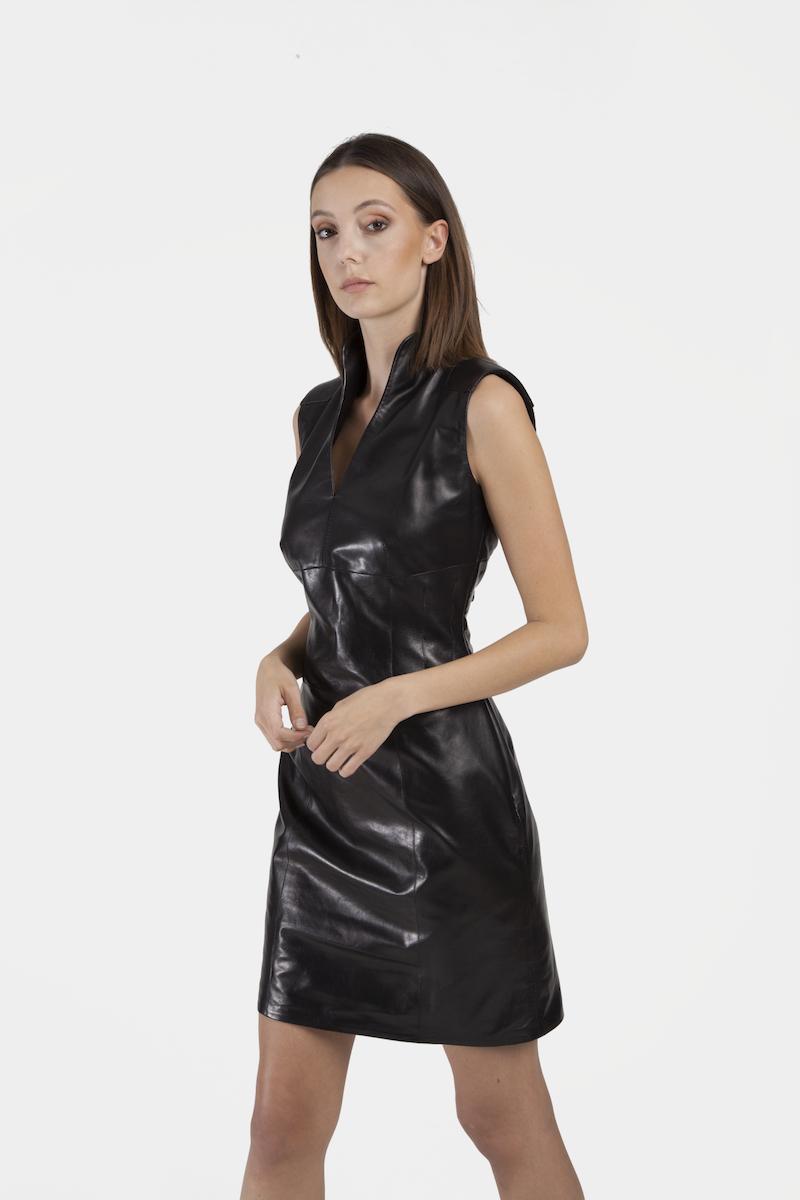 Dakota-robe-cuir-agneau-plongé-closeup