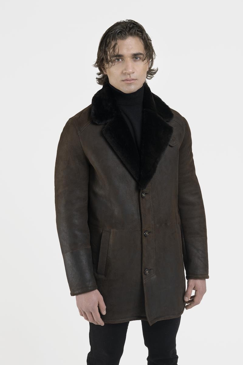 Manteau-veste-col-revers-agneau-retourne-merinos-cote
