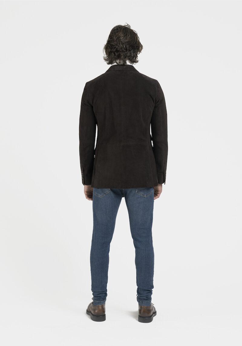 Nilson-blazer-daim-marron-dos