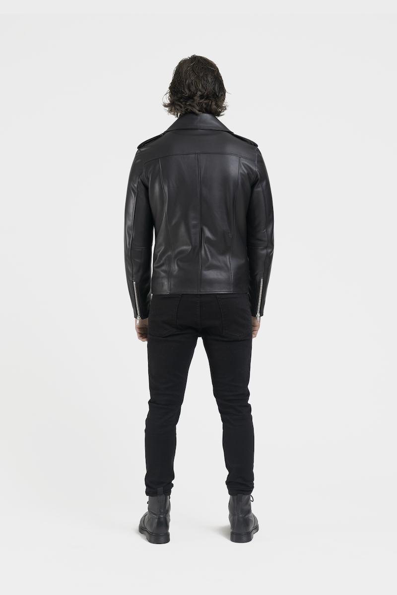 Perfecto-veste-blouson-cuir-agneau-noir-dos