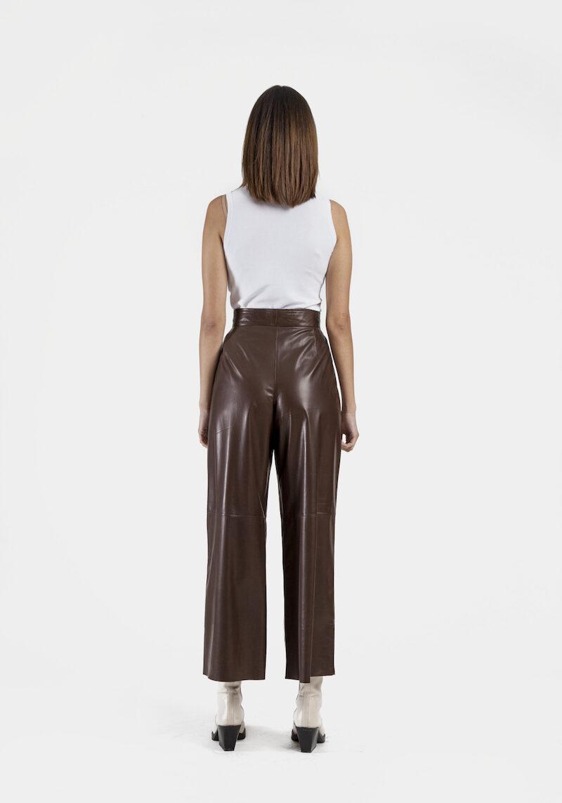 Venezia-pantalon-large-taille-haute-cuir-agneau-dos