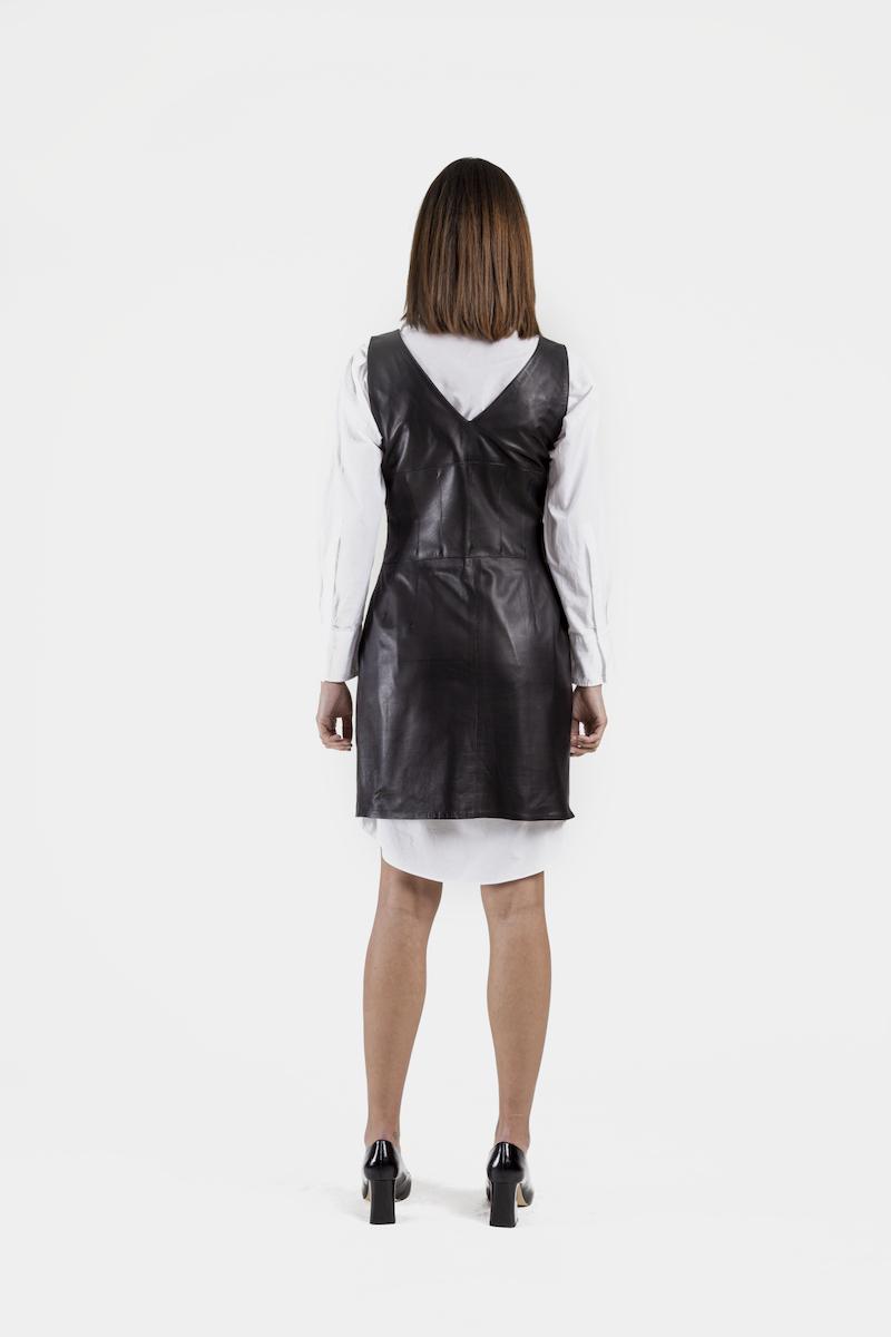 Youri-robe-cuir-agneau-noir-dos