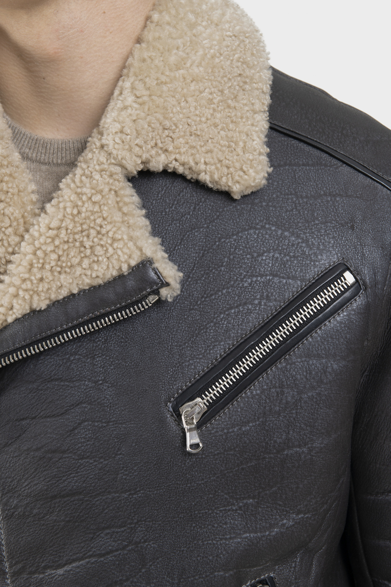 davy-blouson-veste-bomber-agneau-retourne-merinos-detail