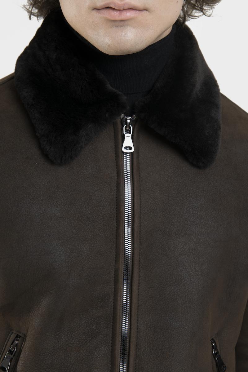 legato-blouson-veste-agneau-retourne-merinos-detail