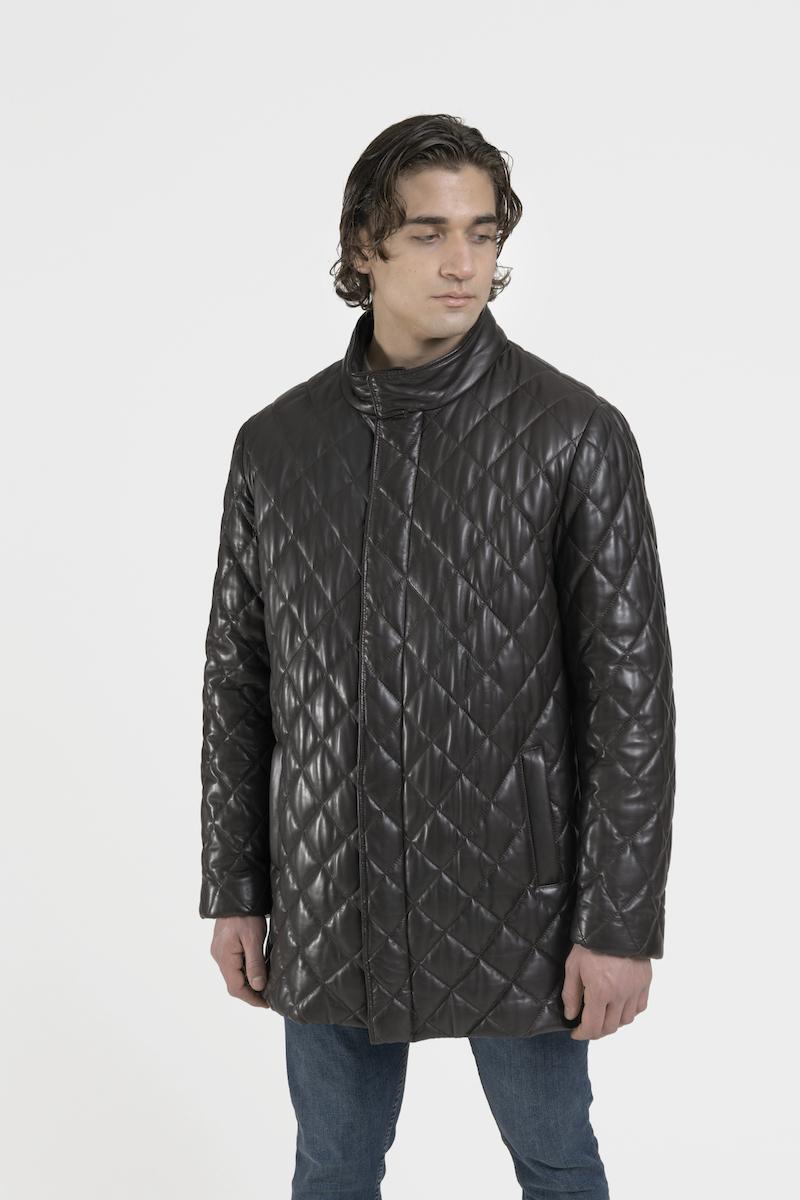 lucio-manteau-veste-capitonne-cuir-agneau-cote