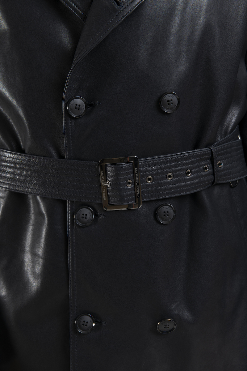 pravin-veste-trench-cuir-agneau-detail