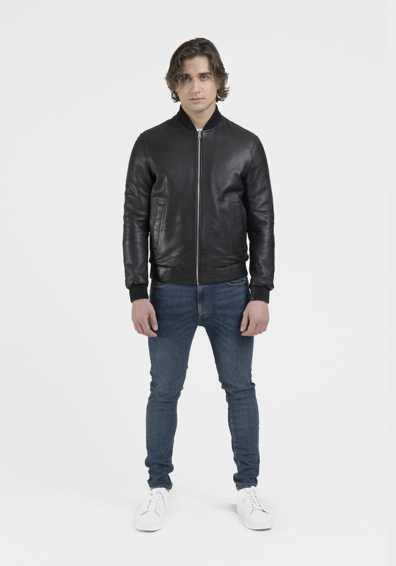 raphael-blouson-veste-réversible-tissu-cuir-agneau-dev