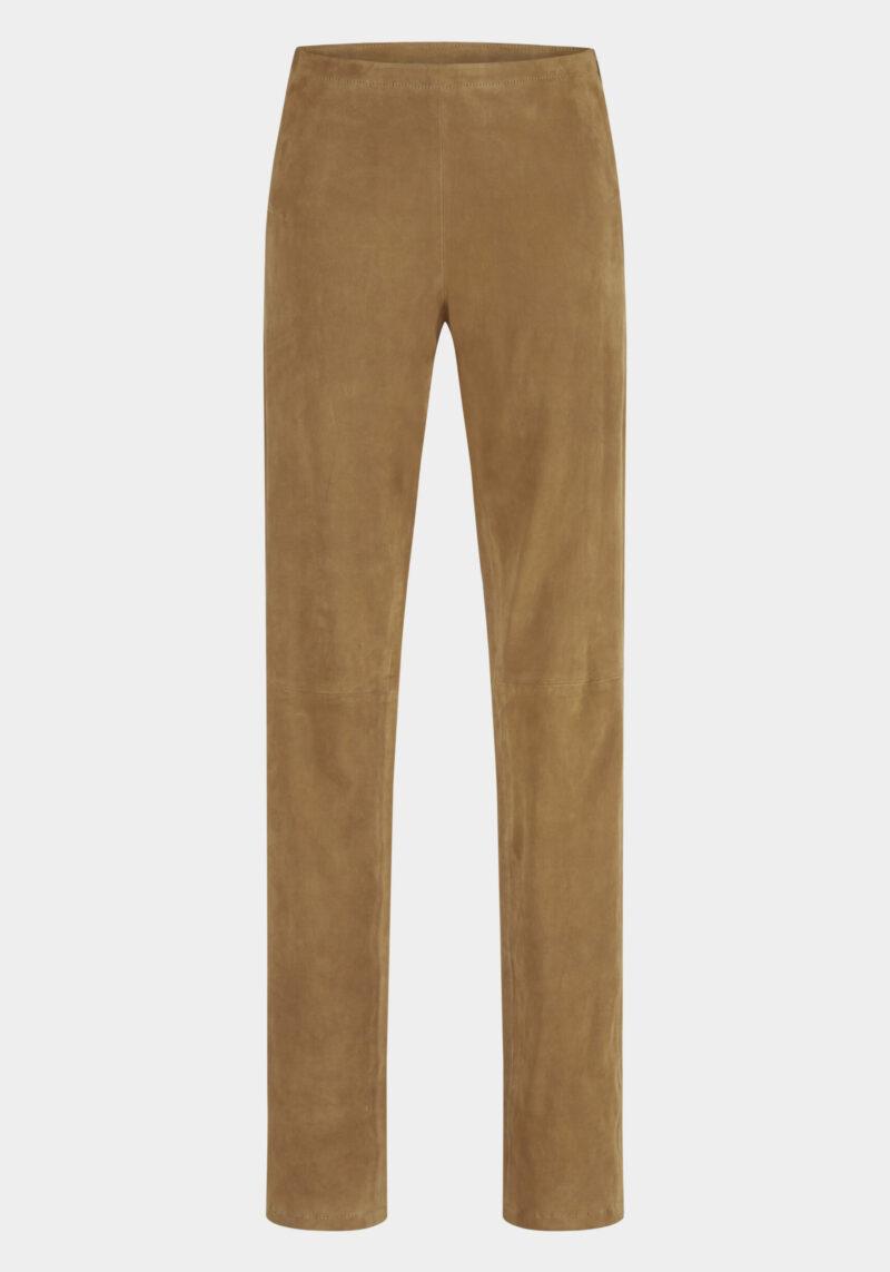 sanemi-pantalon-coupe-slim-daim-velours