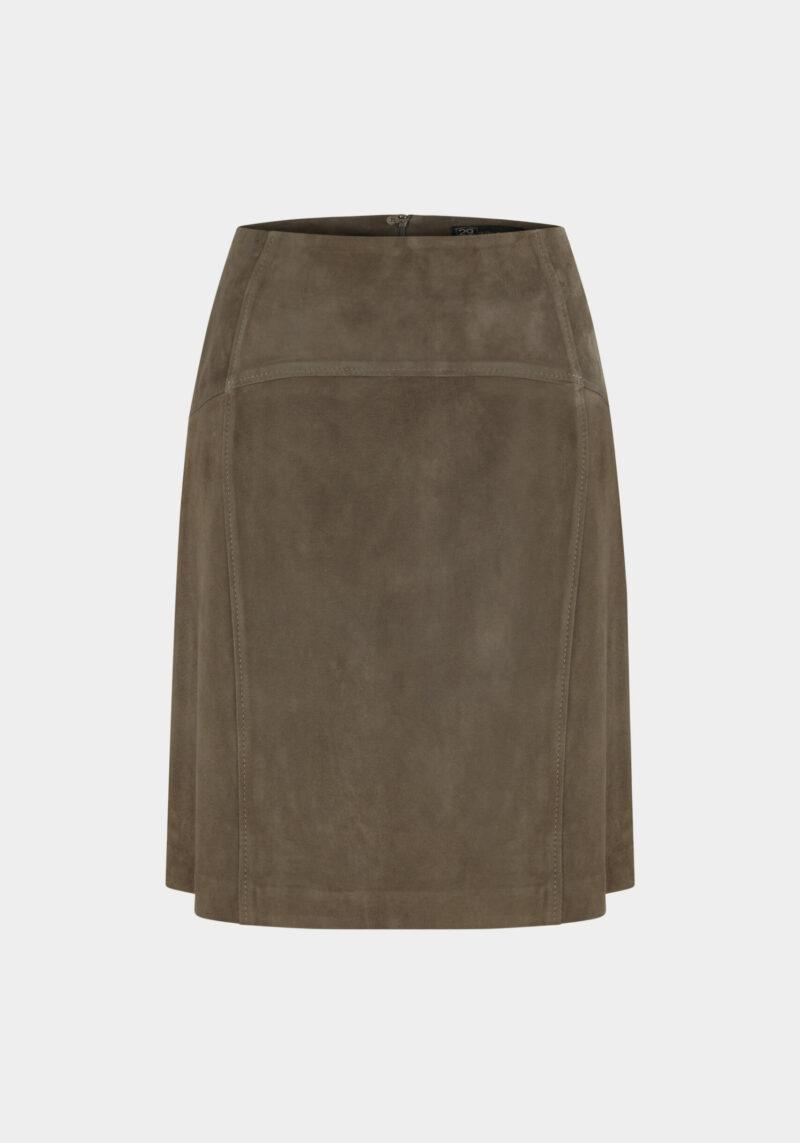 vague-jupe-courte-taille-haute-daim-velours