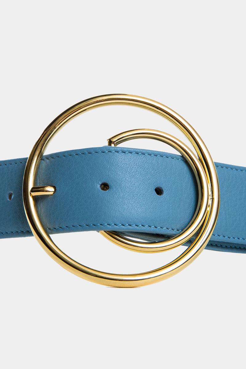 cybele-ceinture-bleu-boucle-ronde-gold-cuir-veau-pleine-fleur-detail