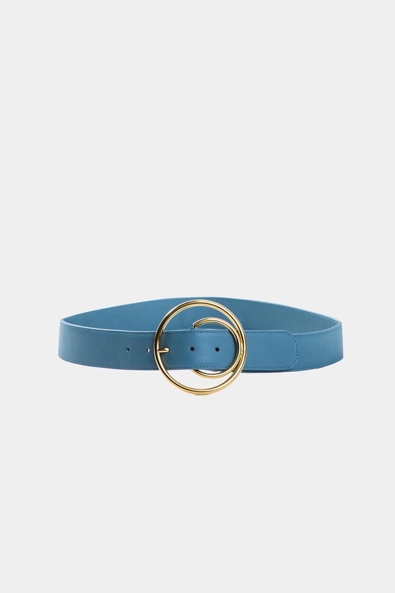 cybele-ceinture-bleu-boucle-ronde-gold-cuir-veau-pleine-fleur-face