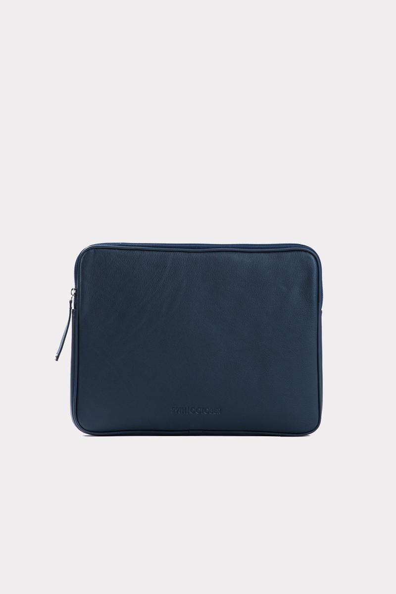 housse-pochette-ordinateur-cuir-veritable-luxe-bleu-face
