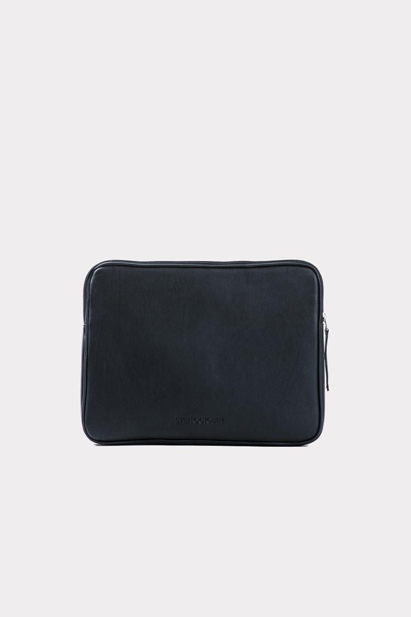 housse-pochette-ordinateur-cuir-veritable-luxe-noir-face