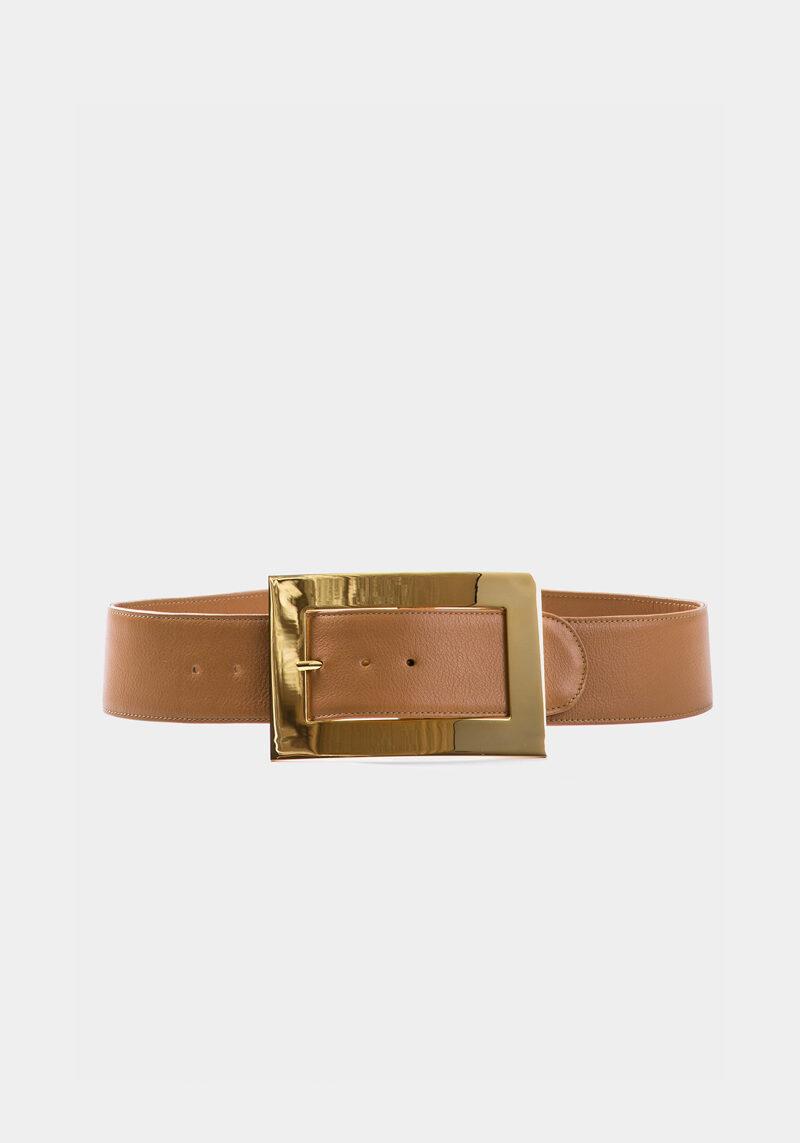 iris-ceinture-boucle-rectangulaire-gold-cuir-brun-veau-pleine-fleur-face