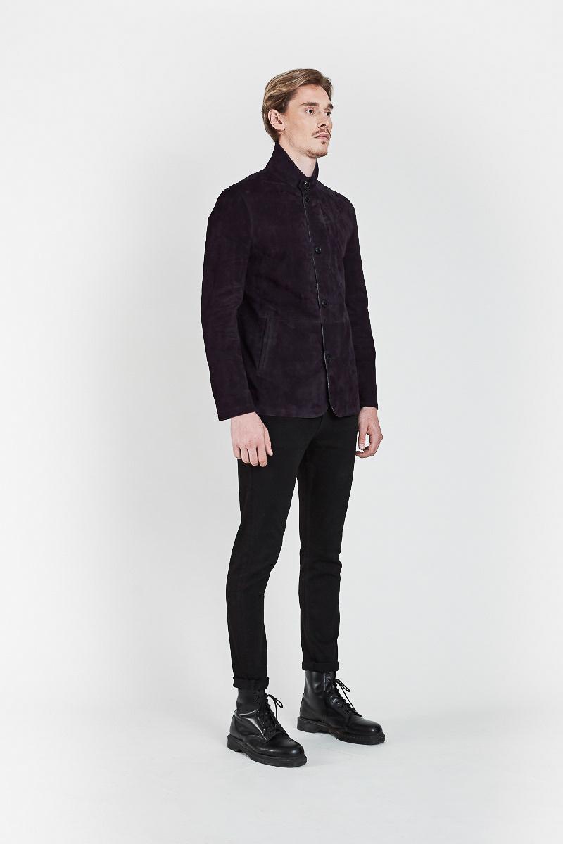 fabiano-veste-blazer-elegant-confort-daim-chevre-velours-bleu-violet-cote