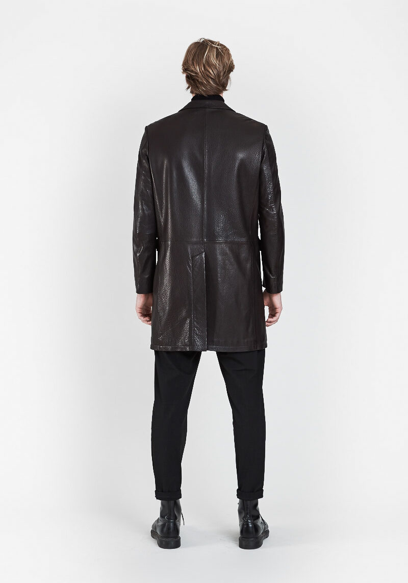 felipe-manteau-vintage-col-revers-cuir-agneau-graine-dos